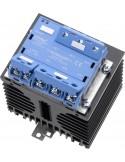 celduc three-phase SSR mounted on heatsink