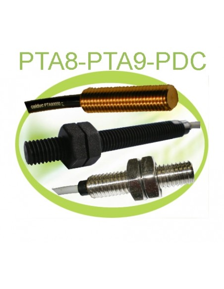 M10 housing in plastic, stainless steel or raw brass